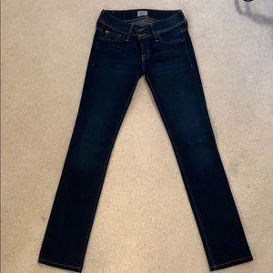 Hudson Straight Leg Jeans-Dark Wash